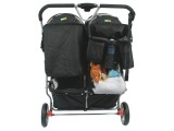 Stroller Caddy on twin pram